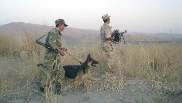 На таджикско-афганской границе, Архивное фото