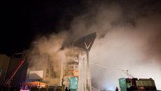 Взрыв в торгово-развлекательном центре Европа в Уфе