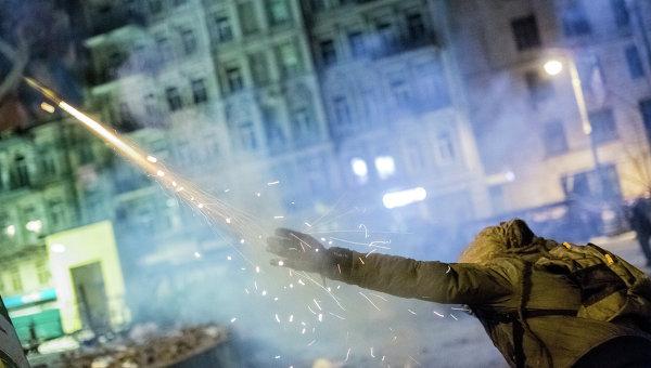 Массовые беспорядки в Киеве. Фото с места событий
