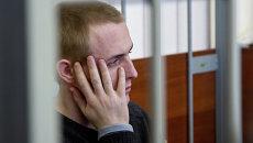 Обвиняемый в убийстве псковского священника Сергей Пчелинцев, архивное фото