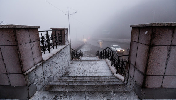 Туман во Владивостоке. Архивное фото