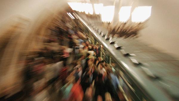 Поезда нафиолетовой ветке следуют сбольшими интервалами