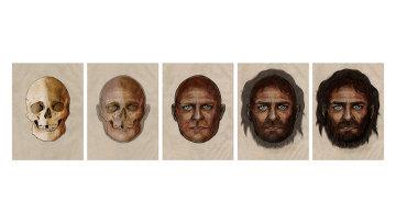 Так художник представил себе то, как выглядел житель испанской пещеры 7 тысяч лет назад