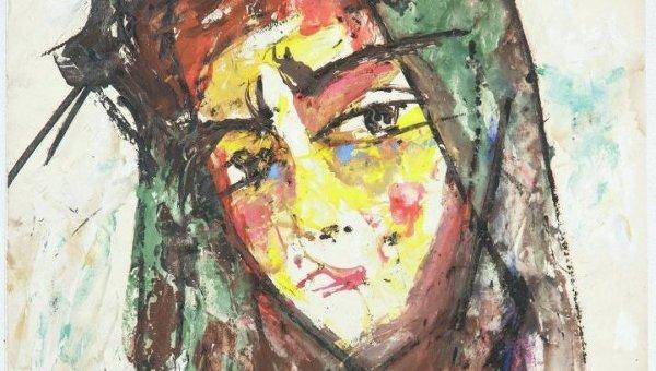 Портрет Лили, 1957. Анатолий Зверев