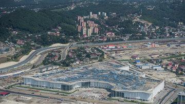 Олимпийский Сочи с высоты птичьего полета