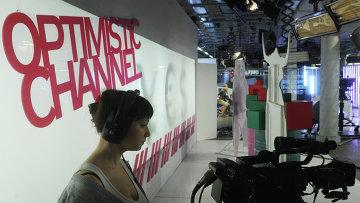 Работа телеканала Дождь. Архивное фото