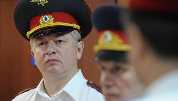 Начальник Управления ГИБДД ГУ МВД России по г. Москве Александр Ильин