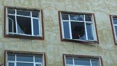 Взрыв при разгерметизации баллона выбил стекла в здании в Петербурге