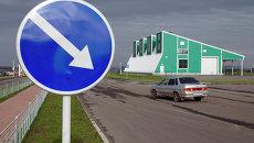 Таможенный пункт пропуска Щебекино на российско-украинской границе