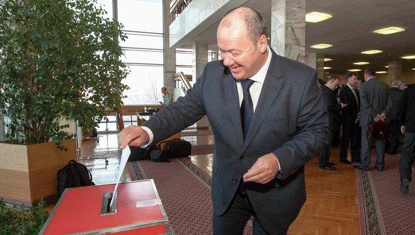Секретарь Новосибирского регионального отделения Партии Единая Россия Александр Морозов, архивное фото