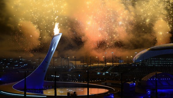 Церемония открытия XXII зимних Олимпийских игр. Архивное фото