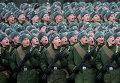 Равнение на гланокомандующего во время подготовки к Параду Победы