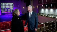 Мэр Москвы Сергей Собянин посетил театр А.Градского. Архивное фото