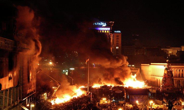 Обострение ситуации на Украине