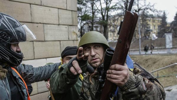 Развитие ситуации в Киеве. Фото с места событий