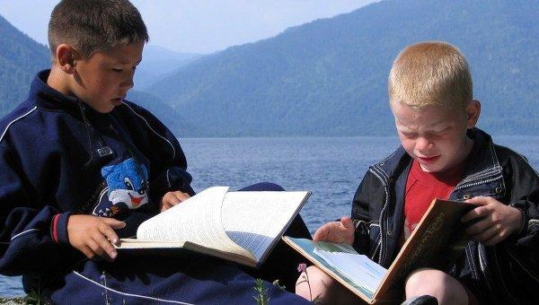 Библиотека на Телецком озере для трудных подростков