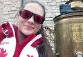 Российская могулистка Екатерина Столярова на Олимпиаде в Сочи