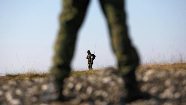 Солдаты на военной базе. Архивное фото