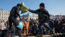 Масленичные гуляния во Владивостоке