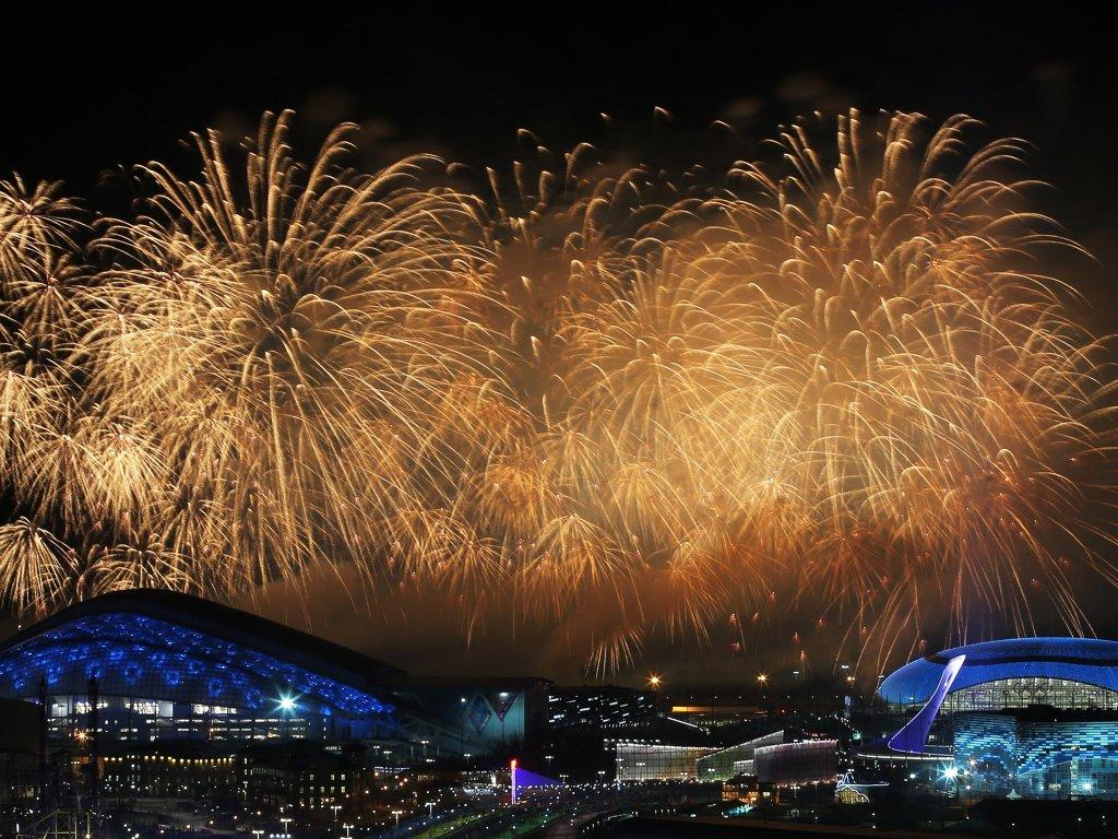 Церемония закрытия Олимпиады 2014, архивное фото