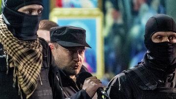 Один из лидеров Правого сектора Дмитрий Ярош