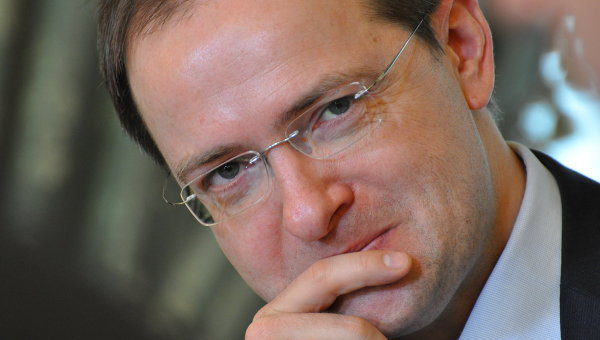 Министр культуры РФ Владимир Мединский. Архивное фото