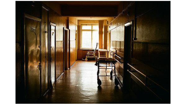 Коридор в больнице. Архивное фото