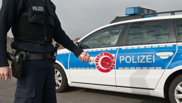 Австрийская полиция. Архивное фото