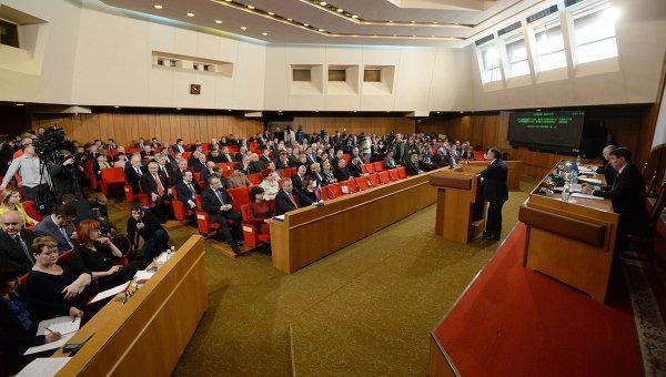 Депутаты парламента Крыма. Архивное фото