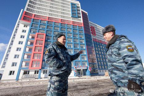 Новое общежитие для бойцов ОМОНа