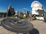 Открытие большой обсерватории Московского планетария