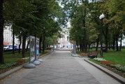 Парк на Никитском бульваре в Москве