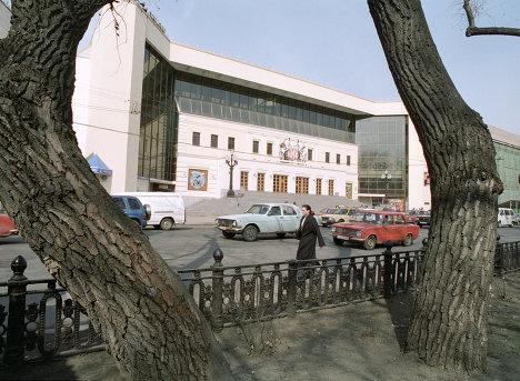 Здание цирка на Цветном бульваре
