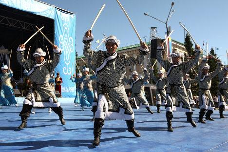 Мероприятия, 90-летие Республики Тува
