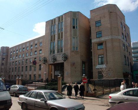 Здание Высшего Арбитражного суда РФ