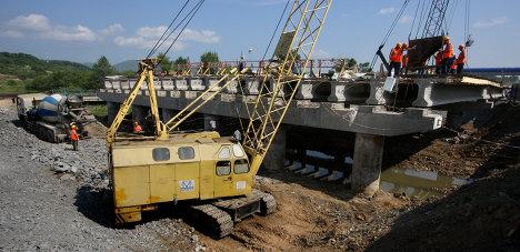 Реконструкция автомобильной дороги во Владивостоке в рамках подготовки к саммиту АТЭС-2012, строительство ремонт дорог