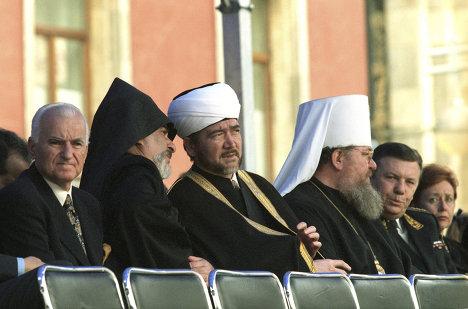 Представители различных религиозных конфессий