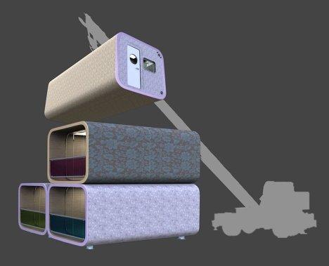 Мобильные гостиницы