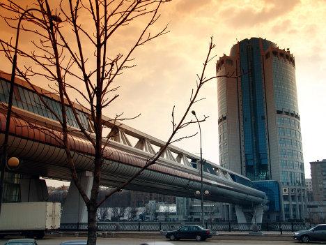Офисный комплекс Башня 2000 и мост Багратион