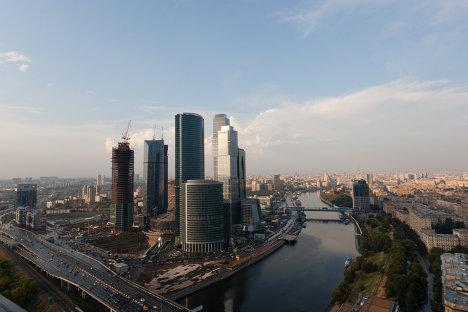 Московский международный деловой центр Москва-Сити