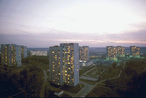 Вечерний Зеленоград