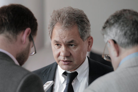 Губернатор Московской области Сергей Шойгу