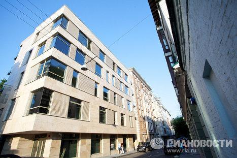 Дом Barkli Virgin House в 1-ом Зачатьевском переулке в Москве