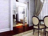 Дизайн квартиры в новостройке, объединение кухни и гостиной