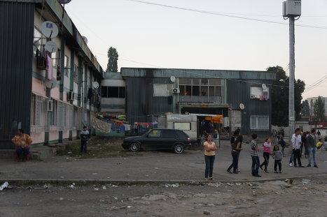 В цыганском гетто Софии - квартале Факультет