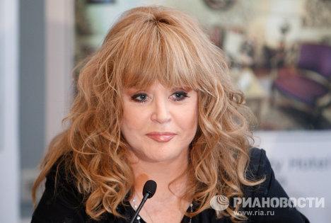 Певица Алла Пугачева