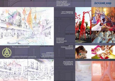 Победители конкурса по разработке дизайна атриума Детского мира
