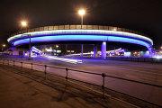 Самые освещенные места в Москве – эстакада на пересечении Ленинградского шоссе с Третьим транспортным кольцом