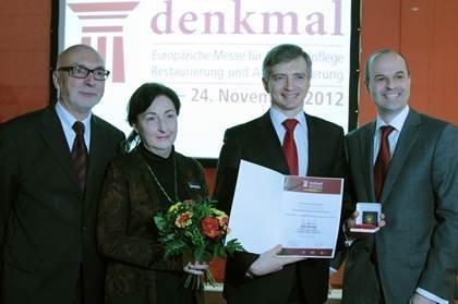 Правительство Москвы удостоено золотой медали за выдающиеся достижения в области сохранения культурного наследия