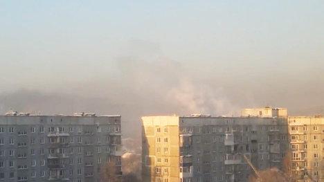 Взрыв в жилом доме в Новокузнецке
